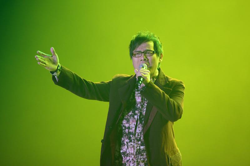父亲刘和刚演唱的谱子